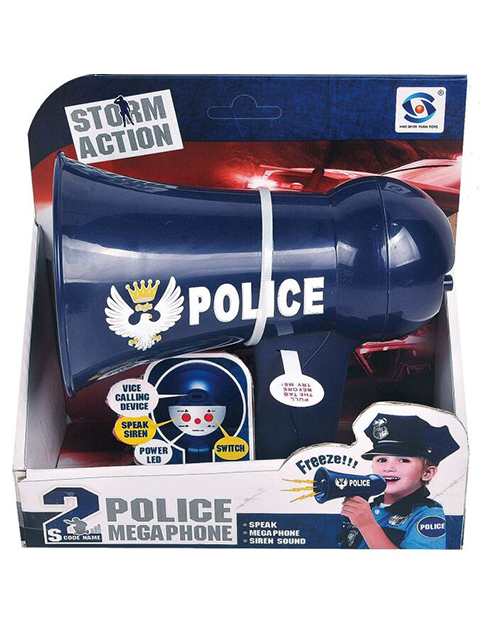 """Игровой набор """"Полицейский"""" на батарейках"""
