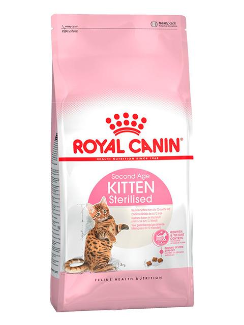 Корм РК Киттен Стерилайзд 0,4 кг (для стерилиз. котят до 12 мес.)