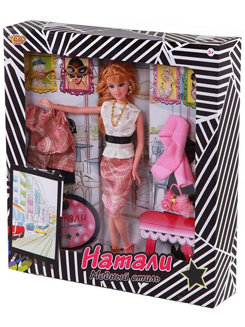 """Кукла """"Натали. Модный стиль"""" с аксессуарами, коробка"""