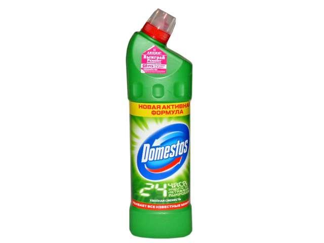 Domestos СЧС для туалета Fresh Хвойная свежесть зеленый 1л