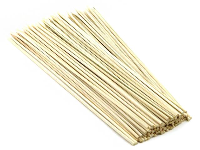 Шампуры бамбуковые 30см, 100шт