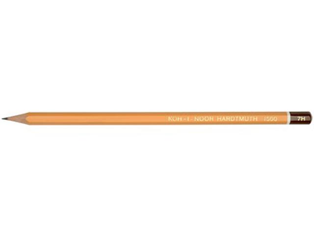 Карандаш чернографитный KOH-I-NOOR 9Н, шестигранный, желтый, без ластика