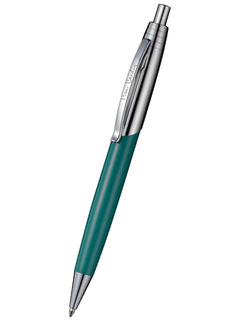 """Ручка шариковая автоматическая Pierre Cardin """"EASY"""" корпус бирюзовый, в подарочной упаковке"""