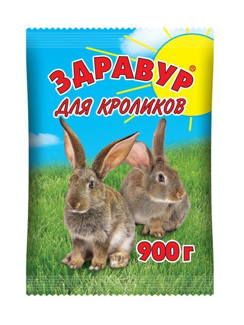 Здравур для кроликов 900гр.