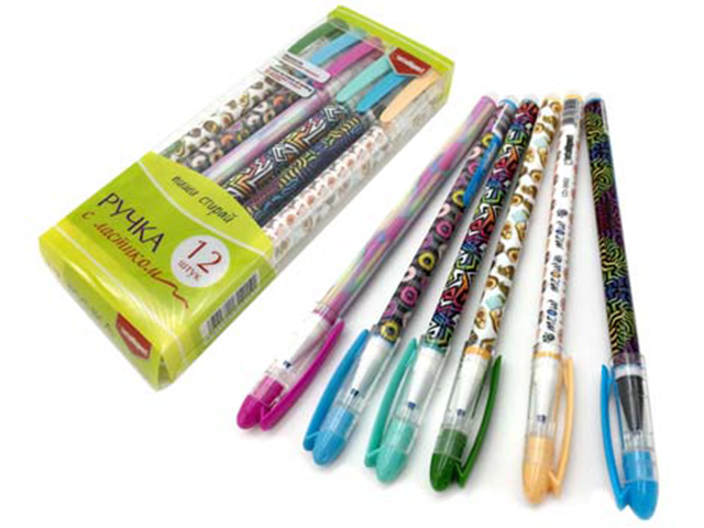 "Ручка пиши-стирай гелевая Intelligent ""Шпион. Ассорти"" 0,5 мм, синяя"