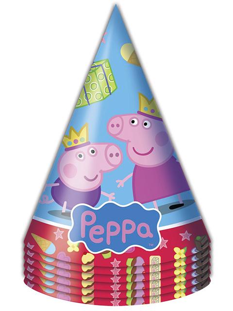 """Колпак Росмэн """"Пеппа- принцесса """" 6 шт. в упак."""